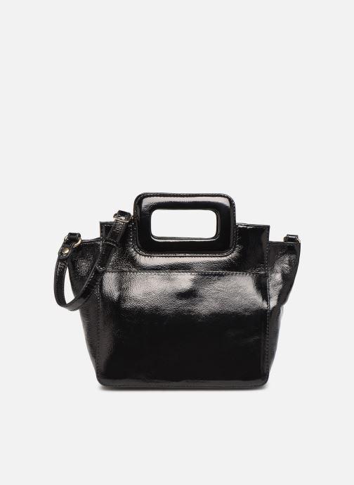 Sacs à main Petite mendigote Sac LITTLE CHARLY crinckled patent lea Noir vue détail/paire