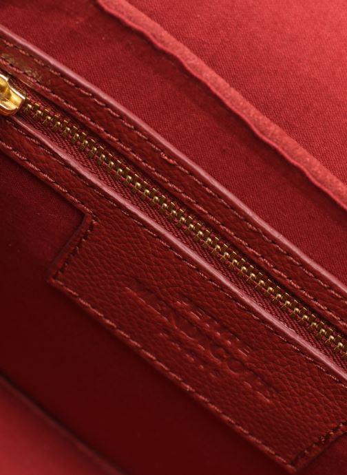 Handtaschen Petite mendigote Sac Jussieu grained cow & cow split rot ansicht von hinten