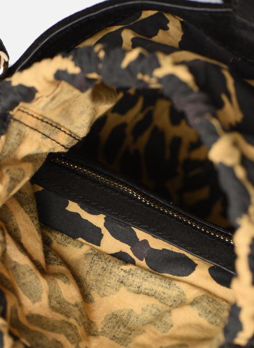 Handtaschen Petite mendigote Sac anneau Ariel cow split schwarz ansicht von hinten