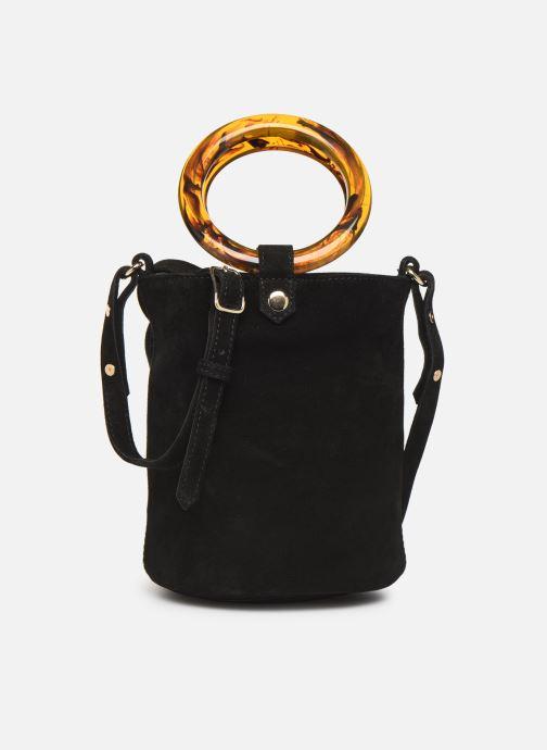 Handtaschen Petite mendigote Sac anneau Ariel cow split schwarz detaillierte ansicht/modell