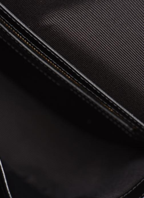 Borse Lacoste CHANTACO CUIR ROUND CROSSOVER BAG Nero immagine posteriore