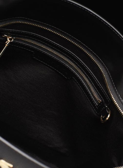 Sacs à main Lacoste CHANTACO CUIR POCKETS SHOPPING BAG Noir vue derrière