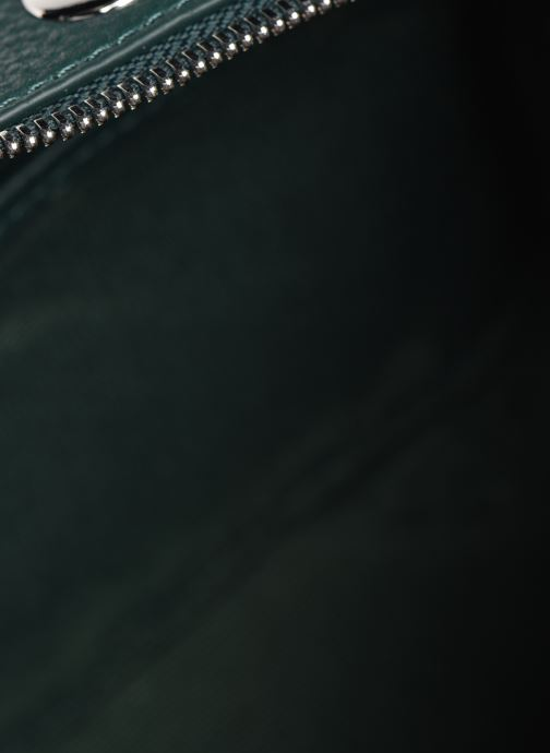 Handtassen Lacoste CROCO CREW CUIR  CROSSOVER BAG Groen achterkant
