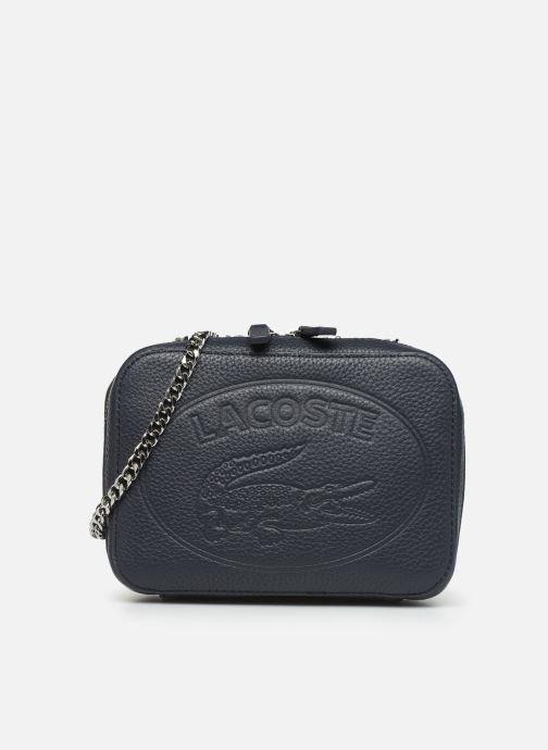 Sacs à main Lacoste CROCO CREW CUIR  CROSSOVER BAG Bleu vue détail/paire
