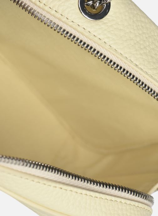 Sacs à main Lacoste Croco Crew Crossover Bag Blanc vue derrière