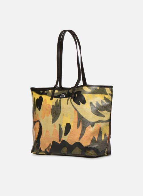 Handtaschen Lacoste ROBERT GEORGE M SHOPPING BAG grün schuhe getragen