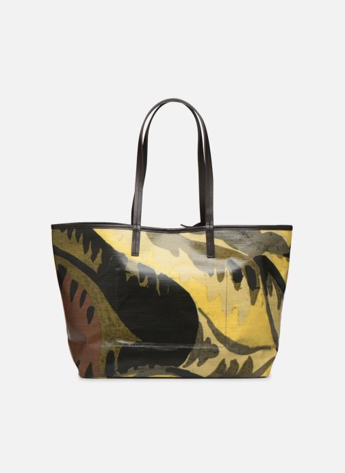 Handtaschen Lacoste ROBERT GEORGE M SHOPPING BAG grün ansicht von vorne