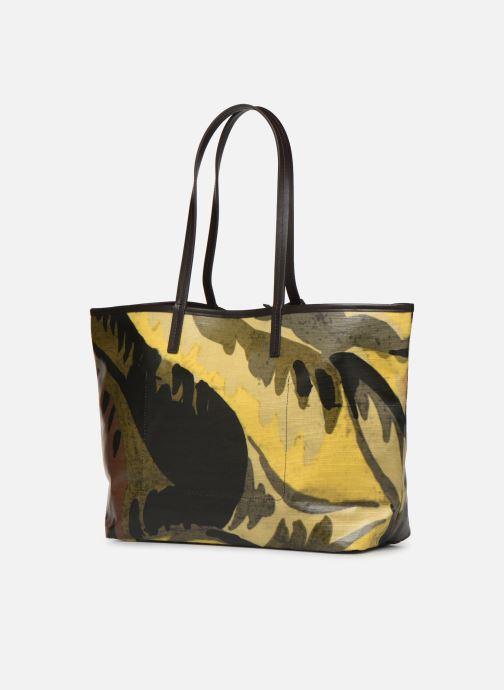 Handtaschen Lacoste ROBERT GEORGE M SHOPPING BAG grün ansicht von rechts