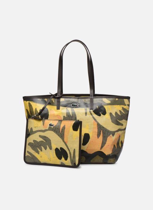 Handtaschen Lacoste ROBERT GEORGE M SHOPPING BAG grün ansicht von links