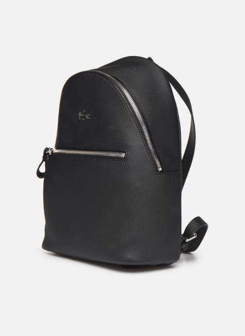 Sacs à dos Lacoste Daily Classic Backpack Noir vue portées chaussures