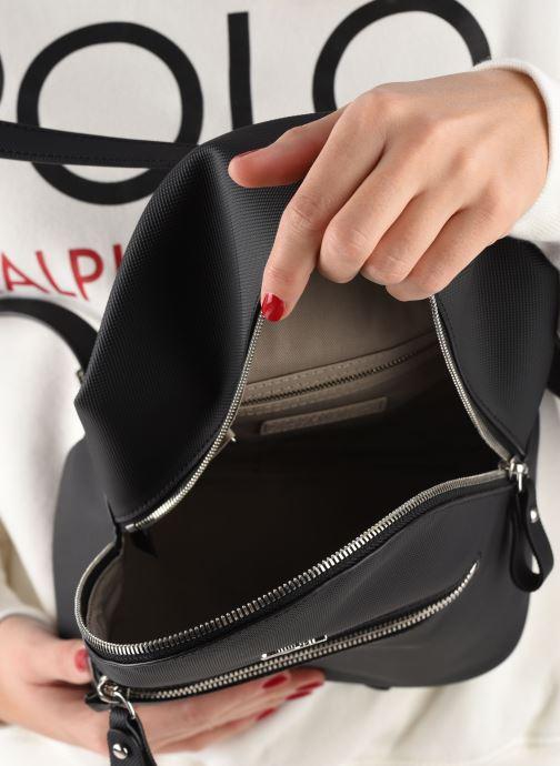 Rucksäcke Lacoste DAILY CLASSIC BACKPACK schwarz ansicht von hinten