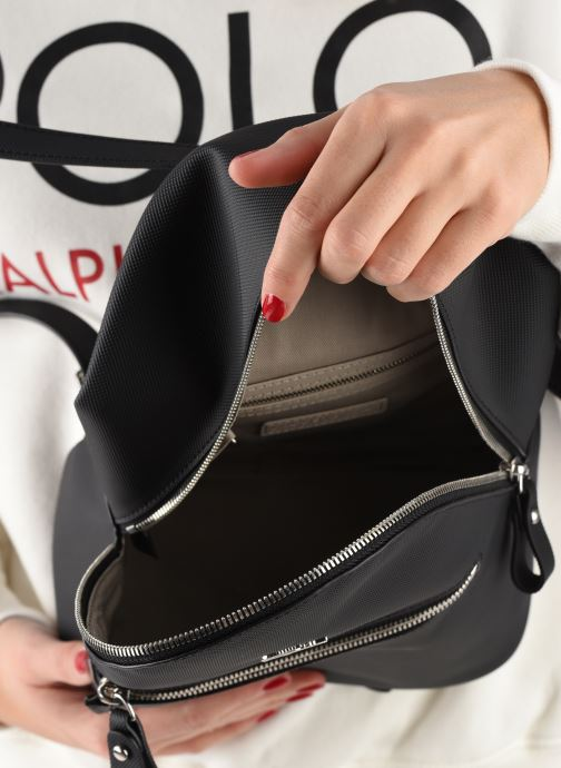 Sacs à dos Lacoste Daily Classic Backpack Noir vue derrière