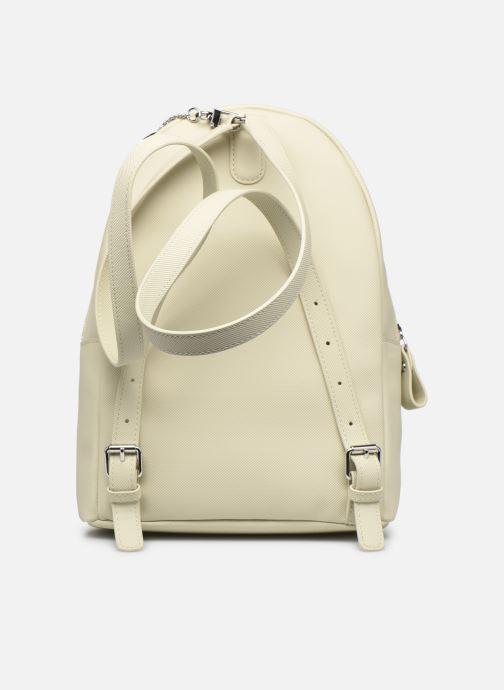 Rucksäcke Lacoste Daily Classic Backpack beige ansicht von vorne