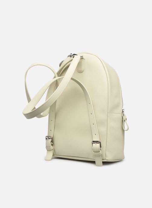 Rucksäcke Lacoste Daily Classic Backpack beige ansicht von rechts