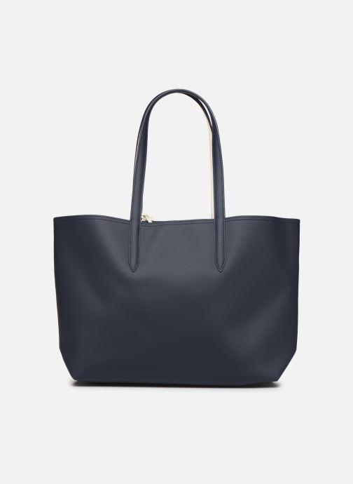 Handtassen Lacoste ANNA SHOPPING BAG Blauw voorkant