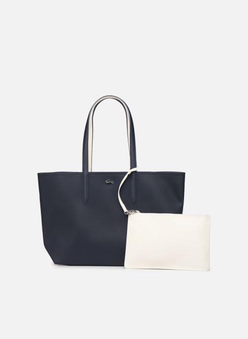 Sacs à main Lacoste ANNA SHOPPING BAG Bleu vue gauche