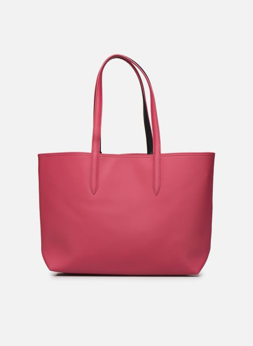 Sacs à main Lacoste ANNA SHOPPING BAG Rouge vue face