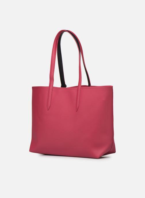 Sacs à main Lacoste ANNA SHOPPING BAG Rouge vue droite