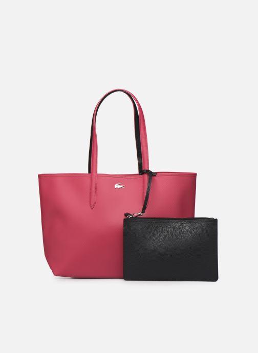 Sacs à main Lacoste ANNA SHOPPING BAG Rouge vue gauche