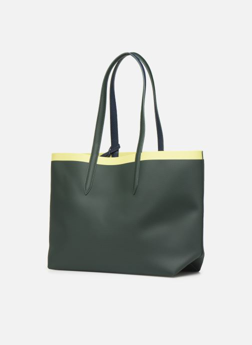 Handtassen Lacoste ANNA SHOPPING BAG Groen rechts