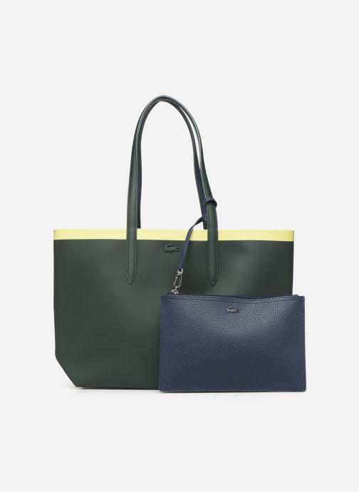 Handtassen Lacoste ANNA SHOPPING BAG Groen detail