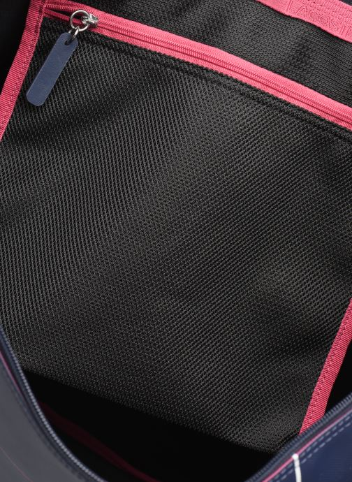 Handtaschen Lacoste L.12.12 CONCEPT L SHOPPING BAG blau ansicht von hinten
