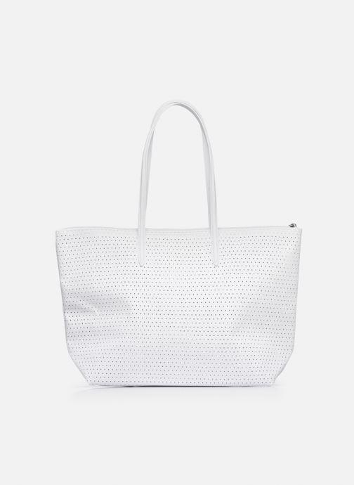 Sacs à main Lacoste L.12.12 Concept Seasonal L Shopping Bag Blanc vue face