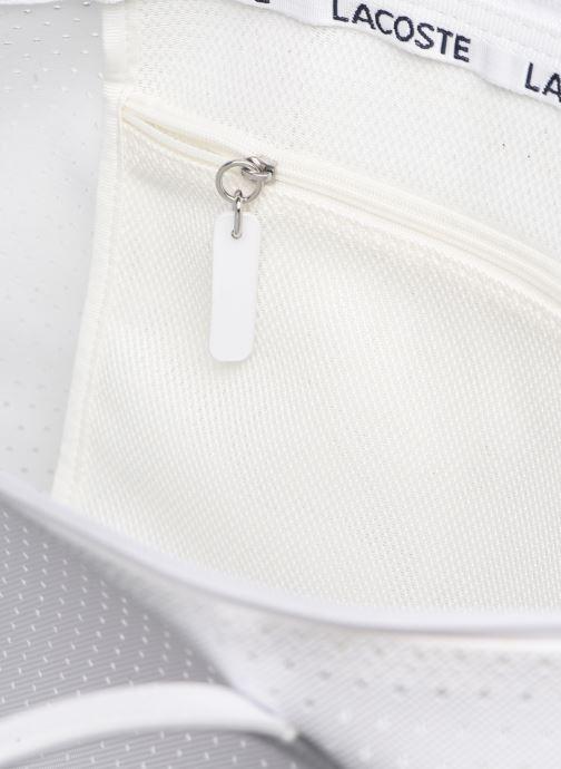 Sacs à main Lacoste L.12.12 Concept Seasonal L Shopping Bag Blanc vue derrière