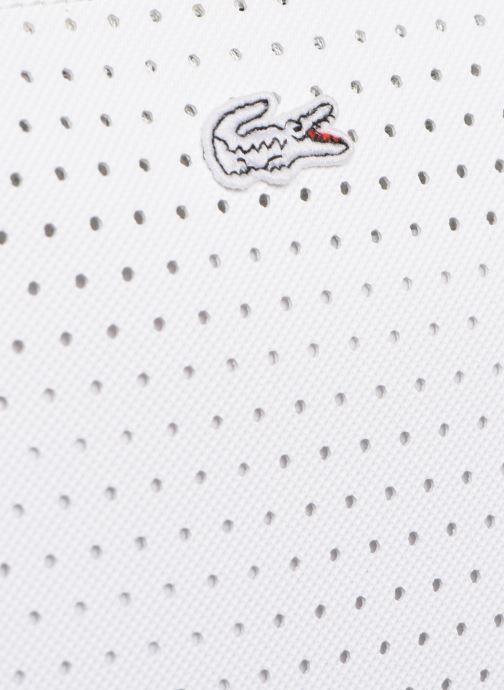 Sacs à main Lacoste L.12.12 Concept Seasonal L Shopping Bag Blanc vue gauche