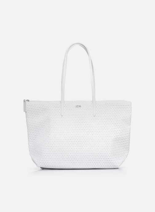 Sacs à main Lacoste L.12.12 Concept Seasonal L Shopping Bag Blanc vue détail/paire