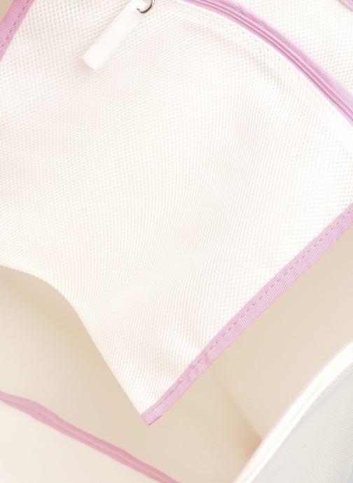 Handtaschen Lacoste L.12.12 Concept Seasonal L Shopping Bag weiß ansicht von hinten