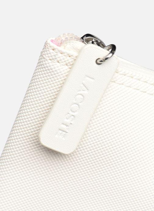 Handtaschen Lacoste L.12.12 Concept Seasonal L Shopping Bag weiß ansicht von links
