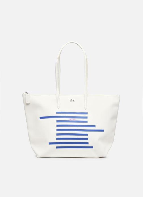 Handtaschen Lacoste L.12.12 Concept Seasonal L Shopping Bag weiß detaillierte ansicht/modell