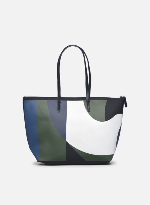 Bolsos de mano Lacoste L.12.12 Concept Seasonal L Shopping Bag Multicolor vista de frente