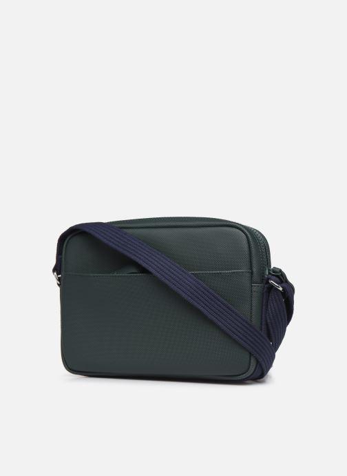 Sacs à main Lacoste WOMEN S CLASSIC SQUARE CROSSOVER BAG Vert vue droite