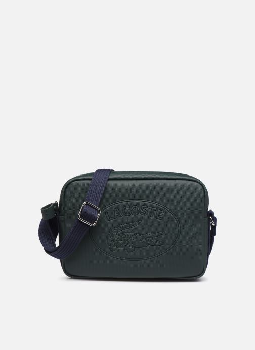 Handtassen Lacoste WOMEN S CLASSIC SQUARE CROSSOVER BAG Groen detail