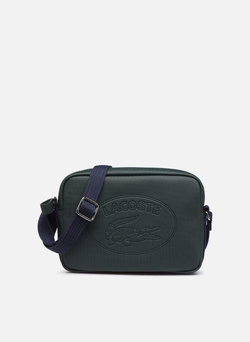 Handtassen Lacoste WOMEN S CLASSIC SQUARE CROSSOVER BAG Groen detail