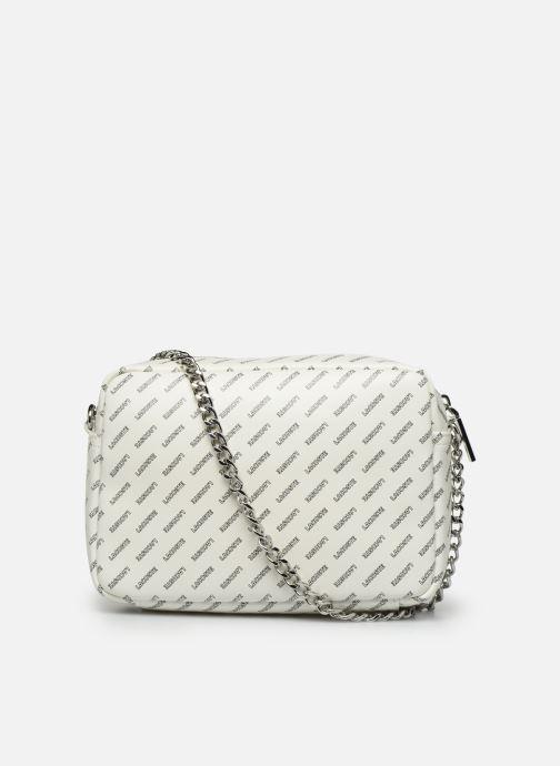 Handtaschen Lacoste REL!VE CROSSOVER weiß ansicht von vorne