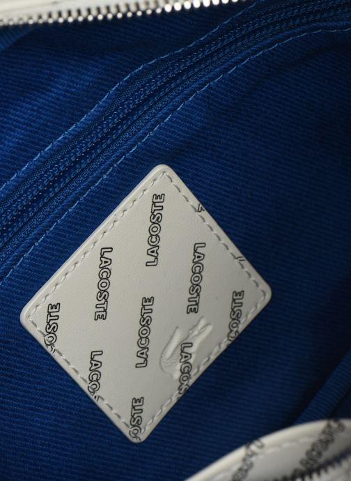 Handtaschen Lacoste REL!VE CROSSOVER weiß ansicht von hinten