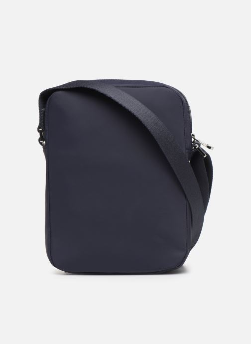 Herrentaschen Lacoste L.12.12 CUIR M VERTICAL CAMERA BAG blau ansicht von vorne