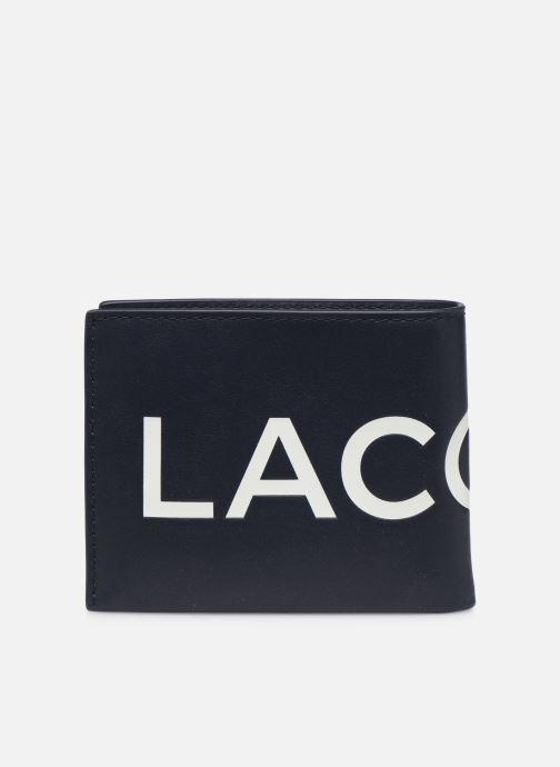 Portemonnaies & Clutches Lacoste L.12.12 CUIR S BILLFOLD blau ansicht von vorne
