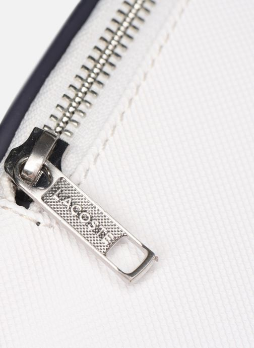 Kleine lederwaren Lacoste 1930 WAISTBAG Wit links