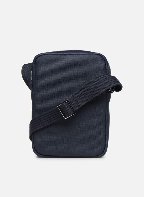 Sacs homme Lacoste MEN S CLASSIC SLIM VERTICAL CAMERA BAG Bleu vue face