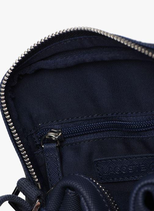 Sacs homme Lacoste MEN S CLASSIC SLIM VERTICAL CAMERA BAG Bleu vue derrière