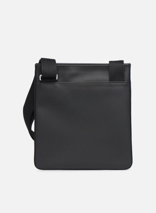 Sacs homme Lacoste MEN S CLASSIC FLAT CROSSOVER BAG New Noir vue face
