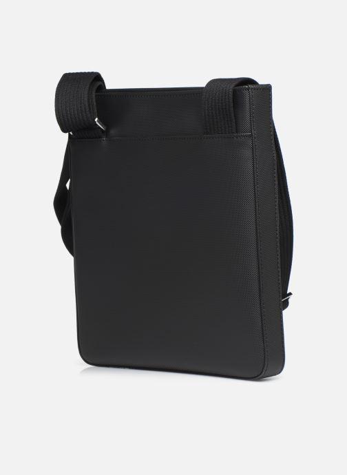 Sacs homme Lacoste MEN S CLASSIC FLAT CROSSOVER BAG New Noir vue droite