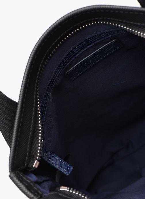 Sacs homme Lacoste MEN S CLASSIC FLAT CROSSOVER BAG New Noir vue derrière
