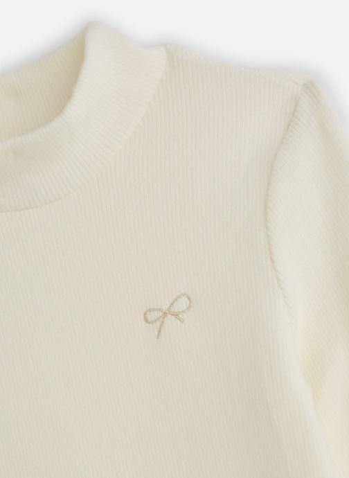 Vêtements Lili Gaufrette T-Shirt GP10042 Blanc vue portées chaussures