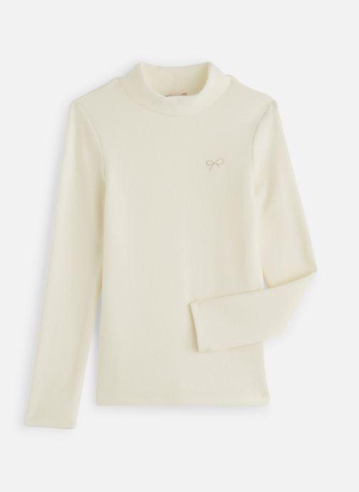 Vêtements Lili Gaufrette T-Shirt GP10042 Blanc vue détail/paire