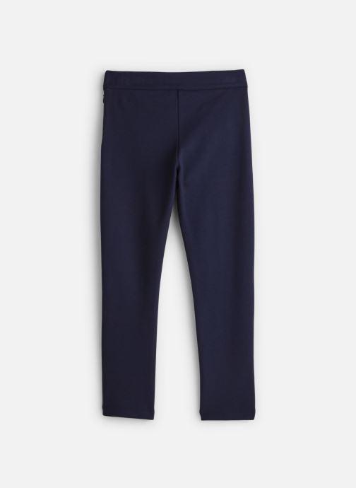 Vêtements Lili Gaufrette Pantalon Milano Bleu Marine à noeuds Bleu vue bas / vue portée sac